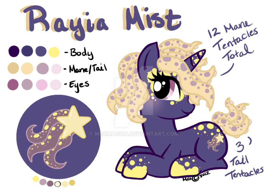 Tentacle Pony Adopt 020 CLOSED by mea0113