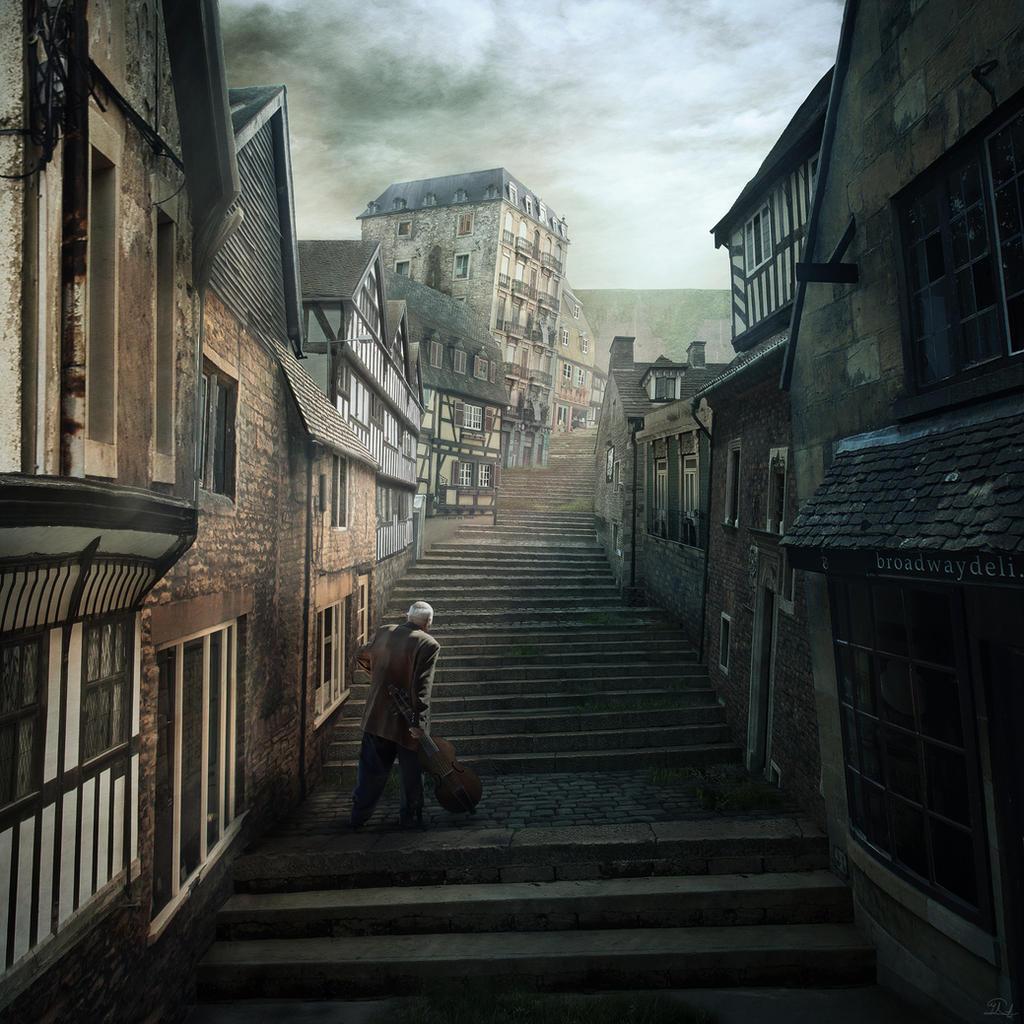 Rue d'Auseil - The Music of Erich Zann - Lovecraft