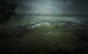 Wild Greenwich NY - Lovecraftian Concept Art by mcrassusart