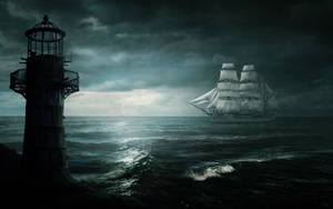 The White Ship - Concept Art by mcrassusart