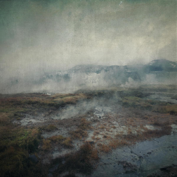 Geysir, Iceland - photomanipulation by mcrassusart