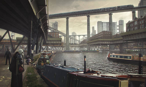 Flooded London Alternate History