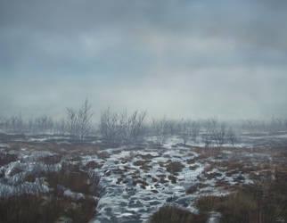 Geysir Iceland Digital Painting by mcrassusart