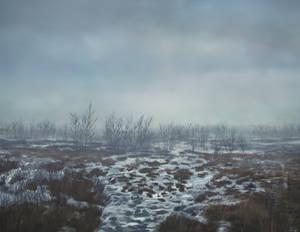 Geysir Iceland Digital Painting