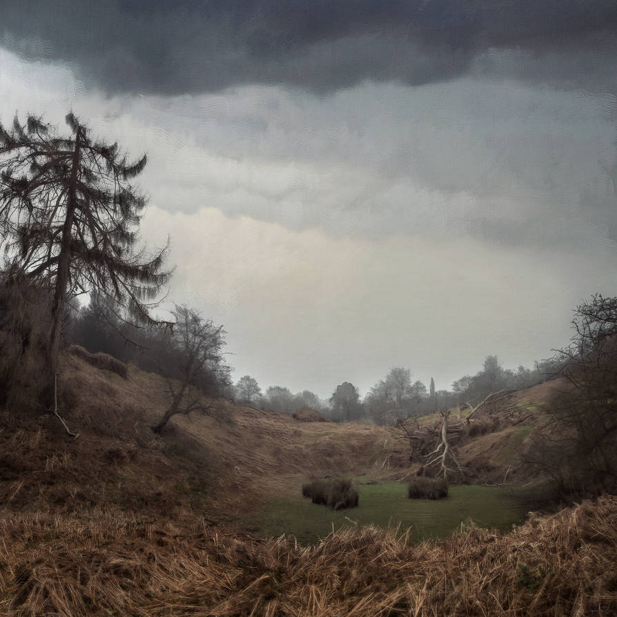 Knole Park in April, Digital Painting by mcrassusart
