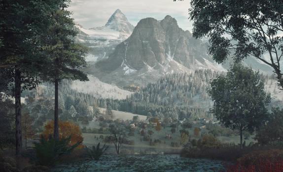 Beyond Oaks Panorama