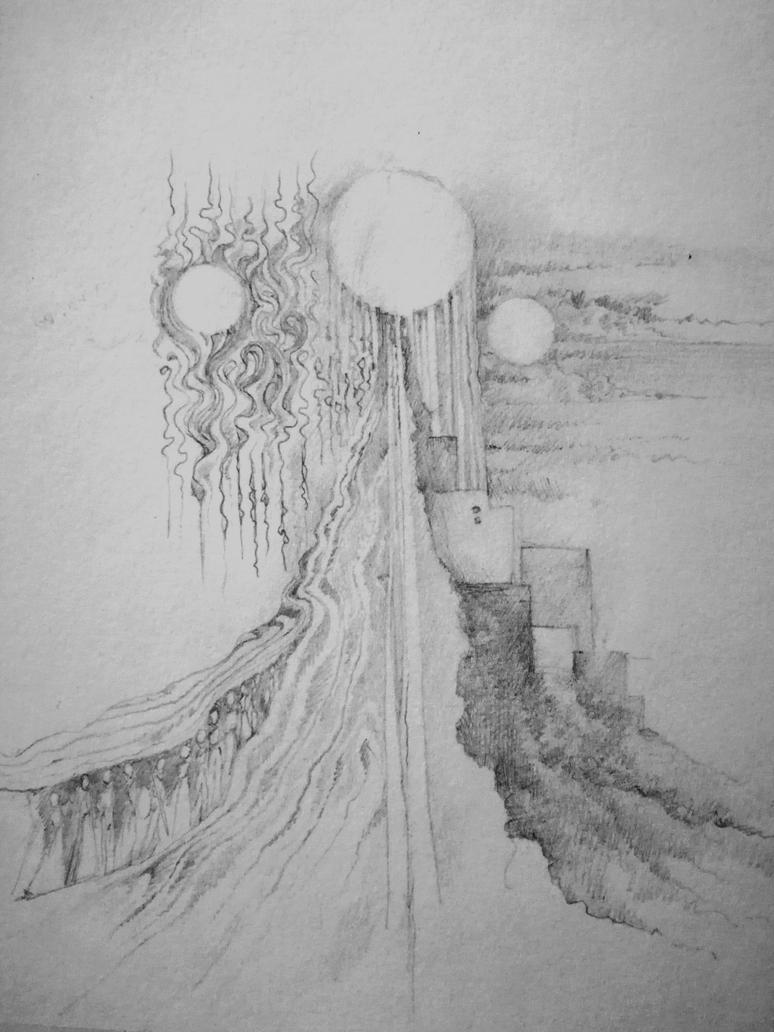 Three Suns by nautilus-belauensis