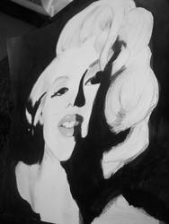 Marilyn Monroe by yuki-mika