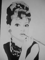 Audrey Hepburn by yuki-mika