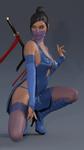 Kunoichi Blue - 2
