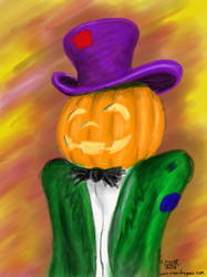 Hallowe'en Approaches by hedgegoth