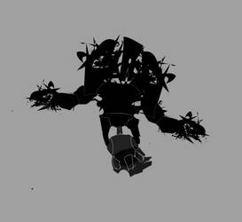 Robot concept WIP 2 by Shydrow