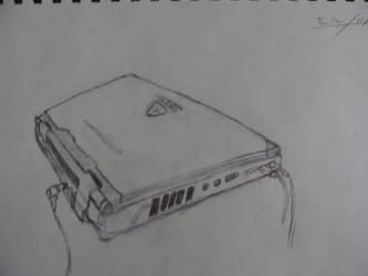 My Laptop by Shydrow