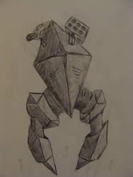 Robot War Mech by Shydrow