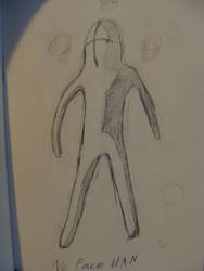Faceless Man by Shydrow