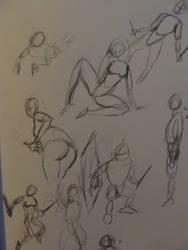Figure Study 1 by Shydrow