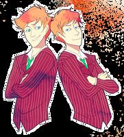 darling redheads by xJex-Usagi
