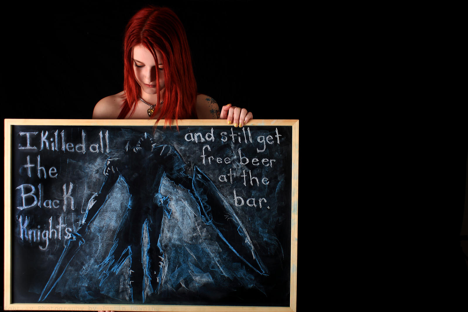 Sexism and Chalk: Part Two (Gamer Girls) by LightrayPhotography