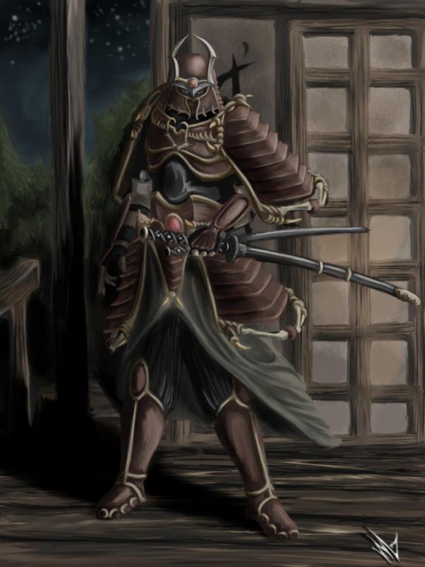 Samurai by XRENOU