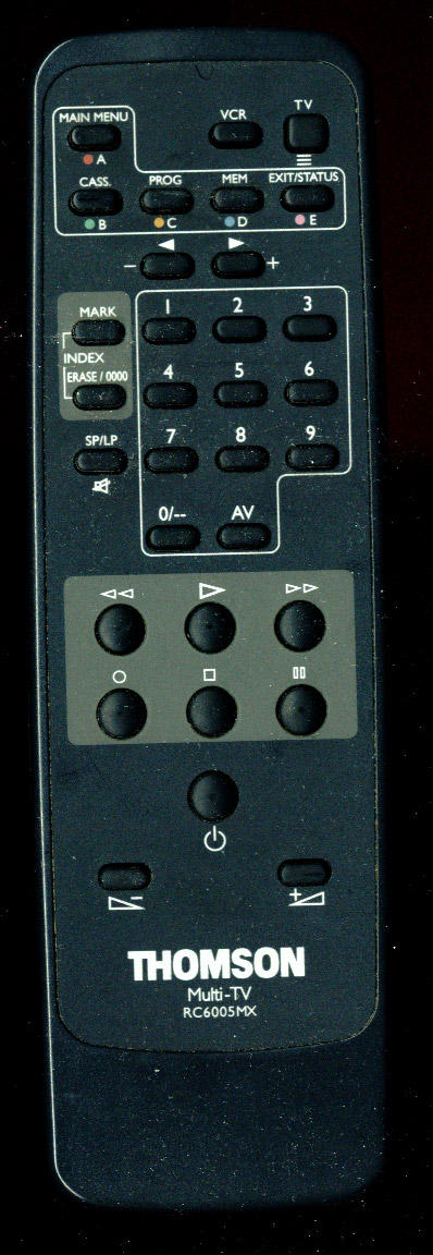 Thomson TV-VCR remote control by antio-stock