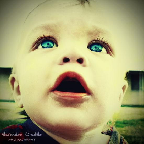 Blue Eyed Wonder by inebriator