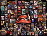 Vampire Movies Collage