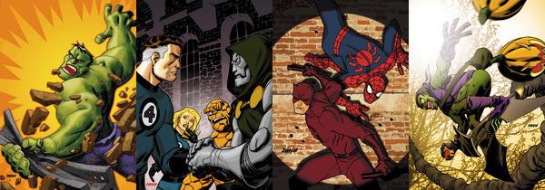 Marvel Cards by Devilpig