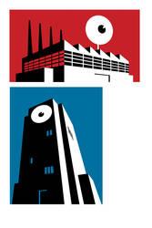 Meltdown comics logo by Devilpig