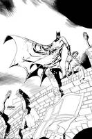 Batman innovatory cover by Devilpig