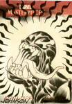 UpperDeck sketch card Venom