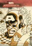 UD sketchcard Captain America