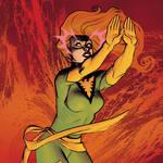 Old Marvel Phoenix tradingcard