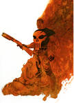 Punisher cover no.71 Step 4
