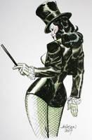 Zatanna convention sketch by Devilpig