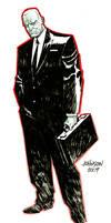 Agent graves con sketch