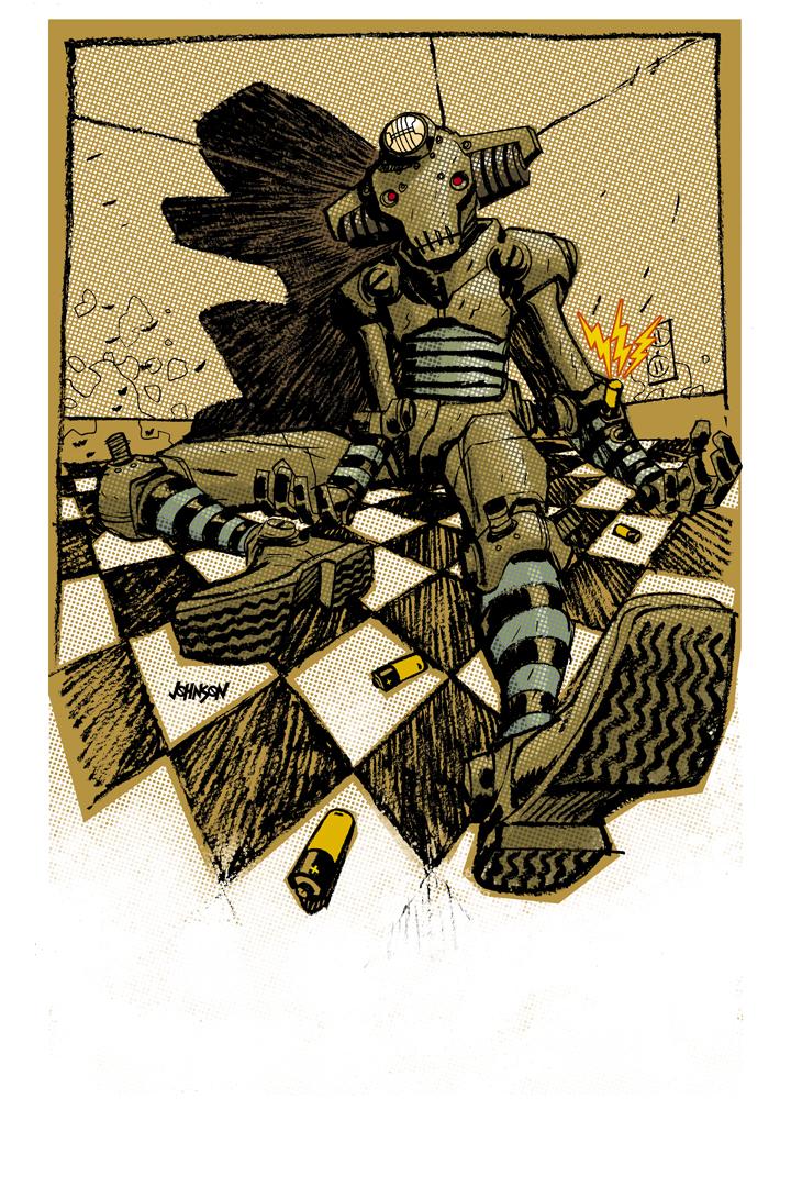 Robot Junkie by Devilpig