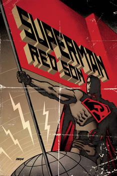 Superman RedSon Hardback cover