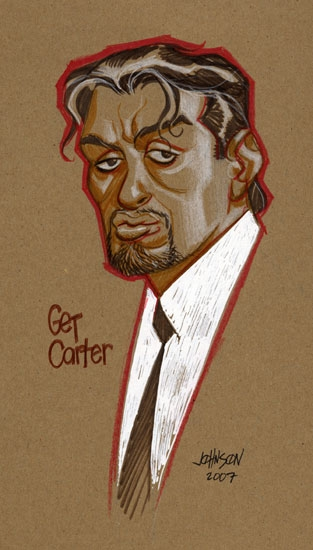 Con sketch Get Carter by Devilpig