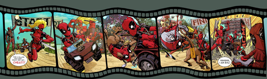 Deadpool Corps. 1 thru 5