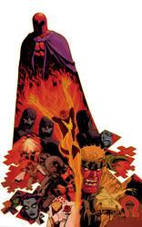 X-Villains poster by Devilpig