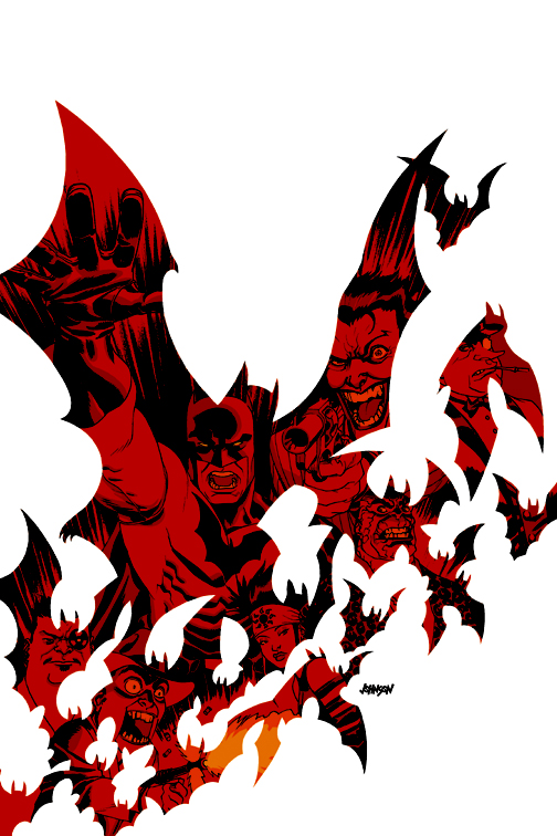 Batman Broken City TPB by Devilpig