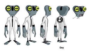 Ben 10 Grey Matter design