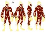 Ben 10 HeatBlast design
