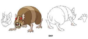 Ben 10 Mutant Hamster design