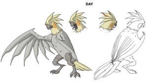 Ben 10 Mutant Parrot design