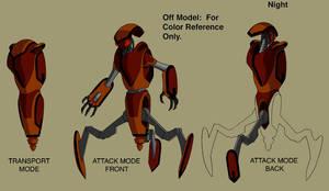 Ben 10 Attack robot design