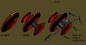 Ben 10 Mecha droid design