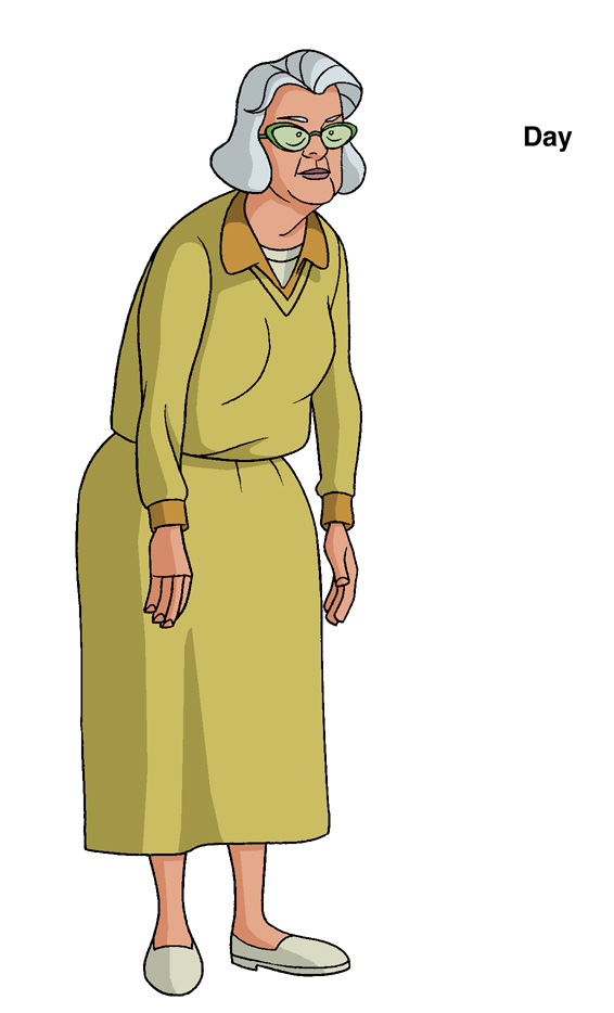 Ben 10 Old Lady design by Devilpig