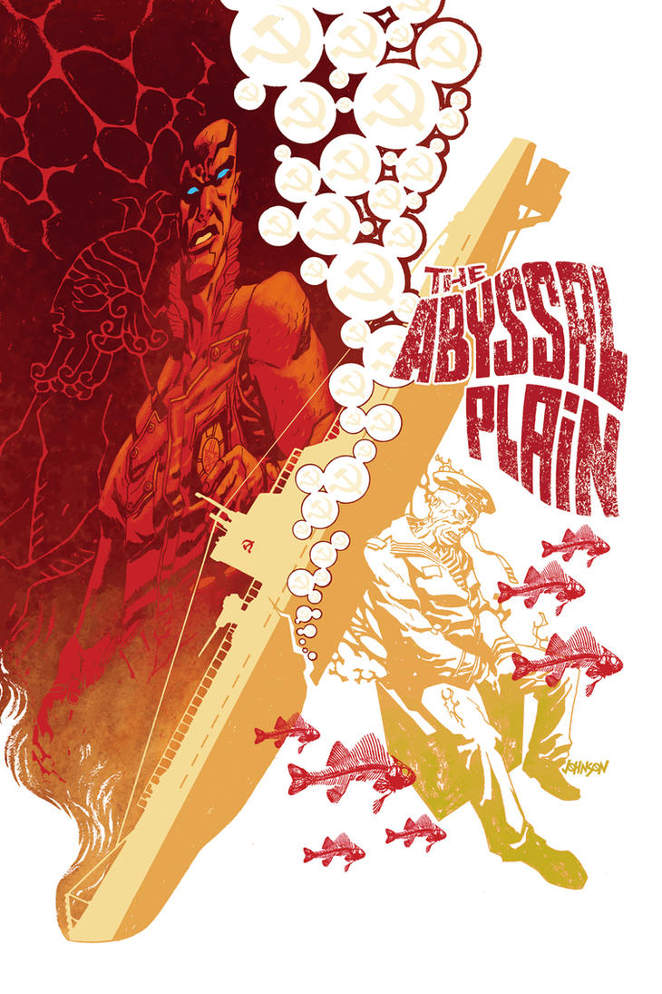 Abe Sapien Abyssal Plain 1 by Devilpig