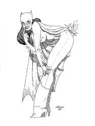 Batgirl Con sketch by Devilpig